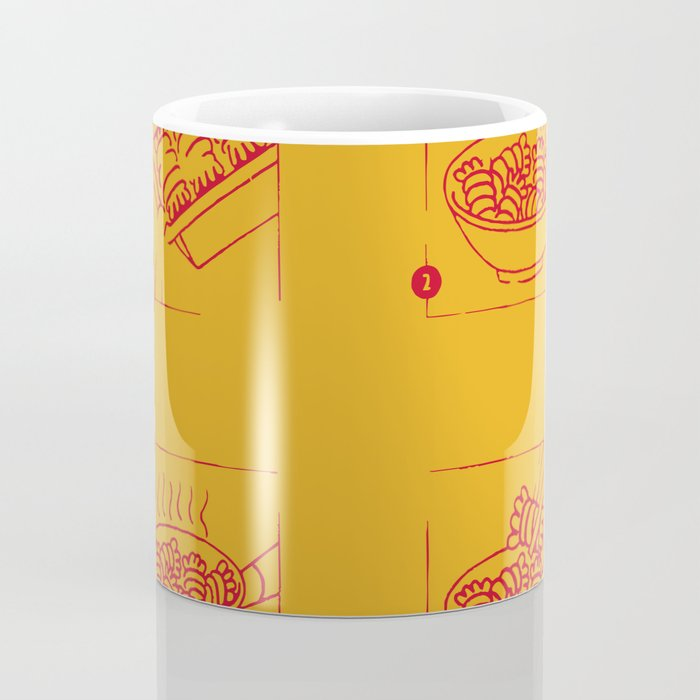 noodles recipe Coffee Mug