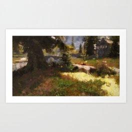Bucolic Paradise Art Print