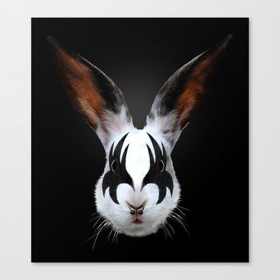 Kiss of a Rabbit Canvas Print