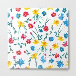 Coloful flowers Metal Print