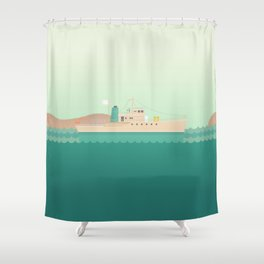 Stand Alone Shower Curtains