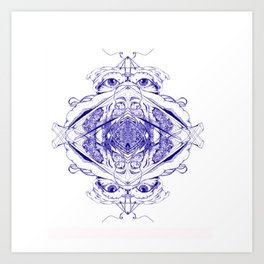 Bryd Art Print