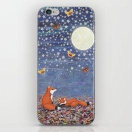 moonlit foxes iPhone Skin