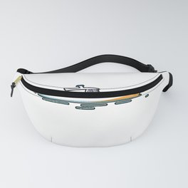Weekend Forecast Pontooning Boating Drinking Summer Gift product Fanny Pack