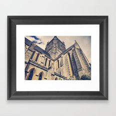 Bermuda Cathedral Framed Art Print