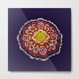 Golden Mandala 2 Metal Print