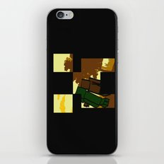 Friends forever (minecraft edition)  iPhone & iPod Skin
