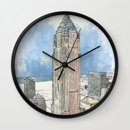 Cleveland Key Tower Wall Clock