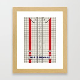 This Is England Framed Art Print
