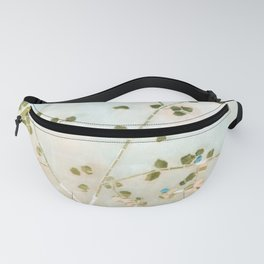 mosaica glitterati in blue + gold Fanny Pack
