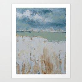 Blue Wind Art Print