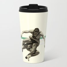 The Wrestler Metal Travel Mug