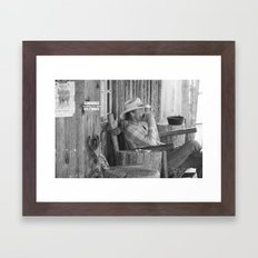 Time to Call it a Day Framed Art Print