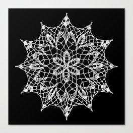 Cosmos Doily Canvas Print