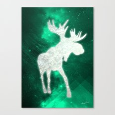 Space Reindeer Canvas Print