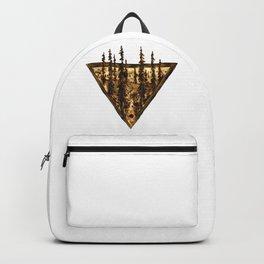 Wood Burn #2 Backpack