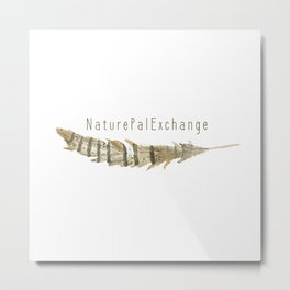 Feather Collectors by Archive Arrow Metal Print