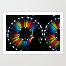 Color in motion  Art Print