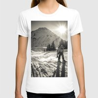 ski T-shirts featuring ski by Sébastien BOUVIER