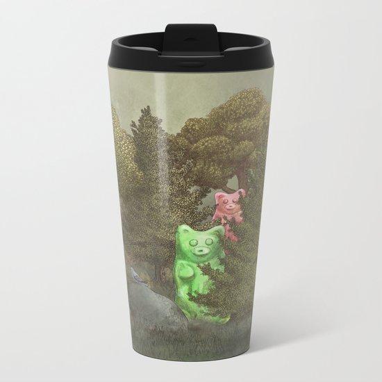 Wild Gummy Bears Metal Travel Mug