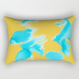 Color Blotch Rectangular Pillow