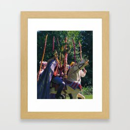 6 of Wands Framed Art Print