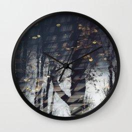Water Trees Wall Clock