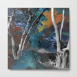 Light in the Wilderness Metal Print