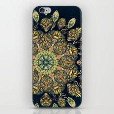 Gardenia Window Mandala  iPhone & iPod Skin