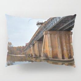 Rustic Leesylvania Bridge Pillow Sham