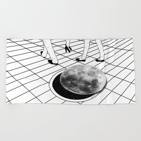 Moonhole Beach Towel