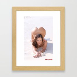 Nude Woman Framed Art Print