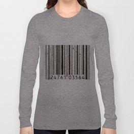 barcode #2 Long Sleeve T-shirt