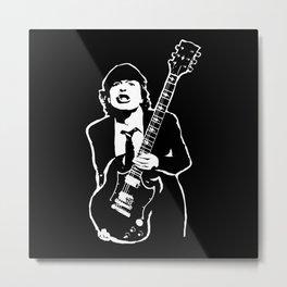 AC DC Metal Print