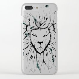 Poetic King Clear iPhone Case