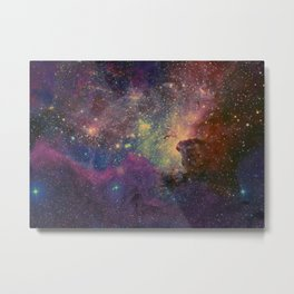 univers abstrait Metal Print
