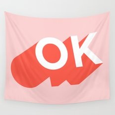 OK Wall Tapestry