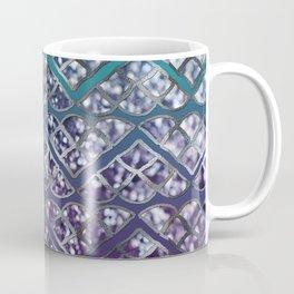 Purple Aqua MERMAID Glitter Scales Dream #2 #shiny #decor #art #society6 Coffee Mug