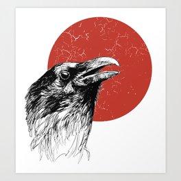 The Raven Art Print