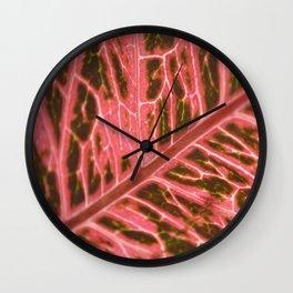Abstract Organisms Wall Clock