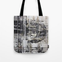 cage Tote Bags featuring Cage by George Lockyer