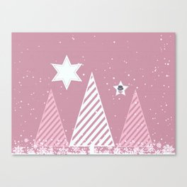Stars forest Canvas Print