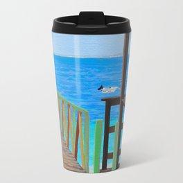 Lookout along Grand Case Beach Travel Mug