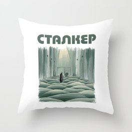 Stalker - Tarkovsky Throw Pillow