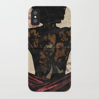 django iPhone & iPod Cases featuring Django by C.R.ILLUSTRATION
