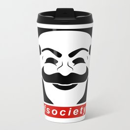 Mr robot Metal Travel Mug