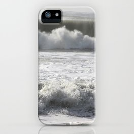 Waves of the Marin Headlands iPhone Case