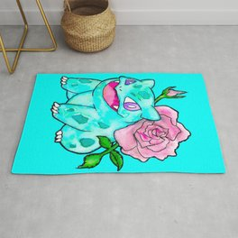 Rosey Toad Rug