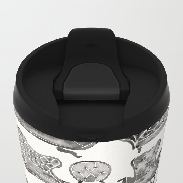 Victorian Lounge – Black Palette Metal Travel Mug