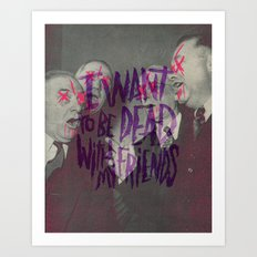 EVERY TIME I DIE Art Print